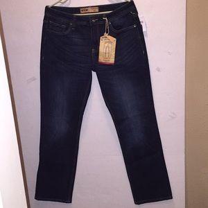 Seven7 Premium Straight Denim Jeans Sz 32 NWT